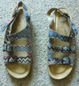 FLY FLOT leather sandals..size 38..Made in Italy (paid $160)