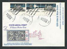 1971 U.S. space cover - Doc's Local Post - KUKULKAN, LUNA 20