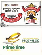 Fixture Card - Bradford Bulls 2007