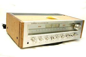 Vintage Pioneer SX-650 AM/FM Stereo Receiver 150 Watts Bad Lights