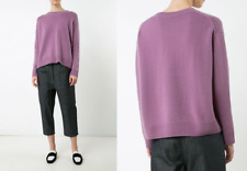 $345 Vince Boxy Cashmere Sweater in Violet; M