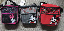 "Disney Baby Mickey Mouse or Minnie 10"" X 10"" Diaper Bag-3 Styles-Choose 1"