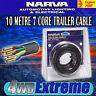 NARVA 10 METRE 7 CORE TRAILER CABLE ROLL, 2.5MM 5A 10M, ELECTRIC WIRE 5872-10TC