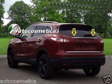 modanatura cromata portellone nuovo per Nissan Qashqai 14> profilo baule cromato