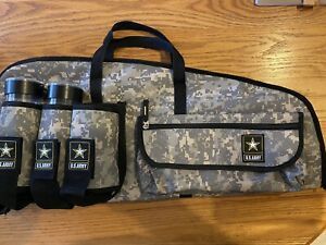 Paintball Gun Padded Carrying Case Bag TIPPMAN US ARMY MARKER CASE-W/Two Pods