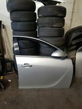 VAUXHALL INSIGNIA 2011 FRONT DOOR O/S DRIVERS SIDE SILVER - Z176