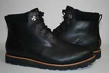 UGG Seton TL Black Leather/Wool Men Boots 1008146 US 15