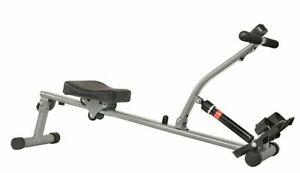 Sunny 12 Adjustable Resistance Rowing Machine Rower W/ Digital Monitor SF-RW1205