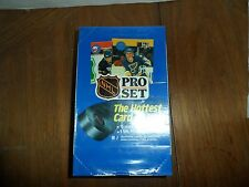 1990-91 Pro Set NHL Hockey Edition_36 pack Box