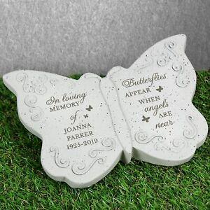 Personalised Butterflies Appear Memorial Butterfly Grave Memorial Bereavement