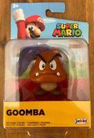 """Jakks Pacific Super Mario 2.5"""" GOOMBA Figure Toy"""