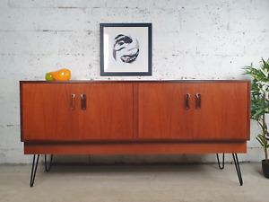 G Plan Fresco Vintage Mid Century Teak Danish Design Retro Sideboard CR0010