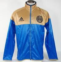 Adidas MLS Philadelphia Union Soccer Football Wind Jacket Packable Mens NWT