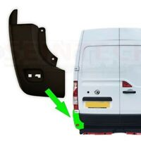 Vauxhall Movano Rear Corner Bumper End Moulding Protective Trim Left N/S 2010 On