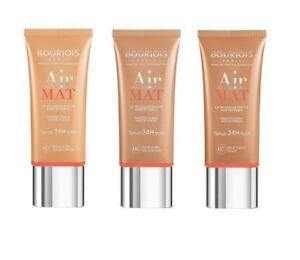 Bourjois Air Mat Foundation 30ml  --Choose shade---