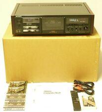 Highend Stereo Tapedeck Sony TC-K730ES Fernbedienung Bedienungsanleitung