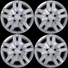 "4 New 2002-2012 Nissan Altima Bolt On 16"" Wheel Covers Hub Caps Full Rim Skins"