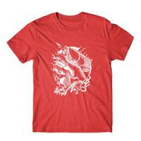 Fisherman T-Shirt 100% Cotton Premium Tee New