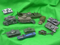 AIRFIX 1/72 HO-OO SCALE MILITARY VEHICLE , PLAY WORN SETS, MULTI-LISTING