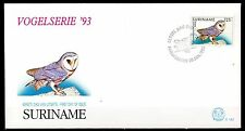 Suriname - 1993 Definitives birds / Owl -  Mi. 1429 clean FDC