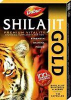 DABUR SHILAJIT GOLD BOOSTS STRENGTH, STAMINA & POWER AYURVEDIC SUPPLEMENT