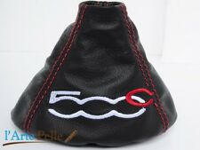 fiat 500c gear stick gaiter with embroidery