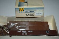Ho Scale Walther 932-3805 Southern Pacific 40' Gondola Kit 53112 C6834