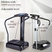 Upgraded 2000W Whole Body Vibration Machine Exercise Platform Massage MultiMode
