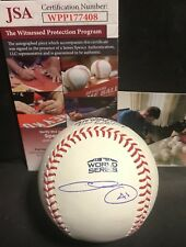 Chris Sale Red Sox Autographed Signed 2018 World Series Baseball JSA WITNESS COA