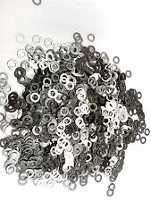 "100 PIECES .320"" x .500"" x .020 SHIM WASHER Stainless Steel / 5/16"" FLAT WASHER"