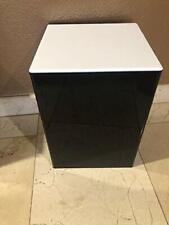 Ds Acrylic Display Art Sculpture Stand Pedestal Black Amp White Top 12 X 12 X 16h
