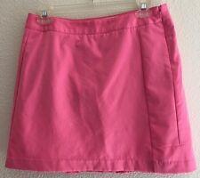 Adidas Clima Cool SZ 2 Skirt/Skort Athletic/Tennis Pink Side Zip 100% Polyester
