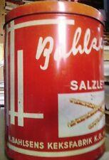 Alte Bahlsen Werbe-Blechdosen (bis 1960)