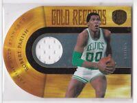2010-11 Robert Parish Boston Celtics Jersey #/299 Panini Gold Standard #11