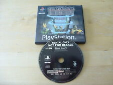 Playstation one/PS1-Blood Lines-Vermietung Edition-ohne Handbuch-Free UK p&p