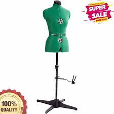 Adjustable Height Neck Bust Back Waist Hips Sew Mannequin Dress Form Small