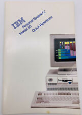 1988 IBM personal system/2 model 50 quick reference book