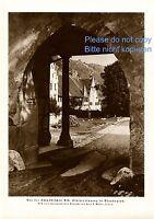 Kloster Blaubeuren XL Fotoabbildung von 1925 Schwäbische Alb KEIN FOTO -