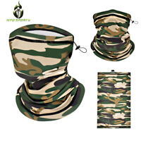 Camouflage Face Cover Bandana Seamless Biker Gaiter Tube Snood Scarf Neck Cover