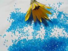 20/0 MacoTube Dark Aqua Transparent  Tube Glass Seed Beads 10 grams