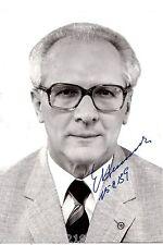 Erich Honecker ++Autogramm++ ++Vorsitzender der DDR++