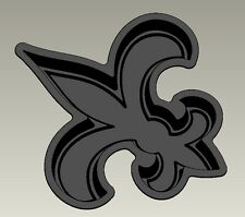 Fleur Di Lis New Orleans Cake Pan, tailgating, parties, makes a great gift