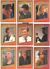 "The Amazing Spider-Man - ""Character Cards"" Set of 9 Chase Cards #C1-9"