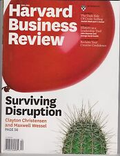 HARVARD BUSINESS REVIEW MAGAZINE DECEMBER 2012, SURVIVING DISRUPTION.