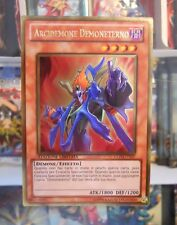 Yu Gi Oh Carta Mostro ARCIDEMONE DEMONETERNO GLD3-IT027 ITALIANO Ultra Ultimate