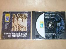 CD AMBIANCE / LIBRAIRIE SONORE / FILMS MUETS / FROM SILENT HILL TO MUSIC HALL