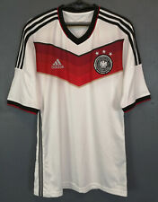 ADIDAS GERMANY 2014/2015 DEUTSCHLAND WINNERS SOCCER FOOTBALL SHIRT JERSEY SIZE S
