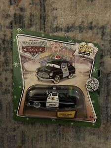 Disney Pixar The World Of Cars Story Tellers Collection Holiday Spirit Sheriff