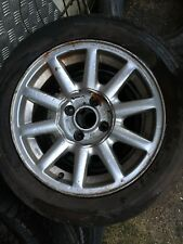 AUDI 80 90 B3 B4 COUPE CONVERTIBLE ONE SPEEDLINE ALLOY WHEEL R15 4x108