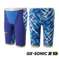 NEW MIZUNO Swimsuit Swimwear Men GX-SONIC III ST FINA N2MB6001 Blue Japan F/S